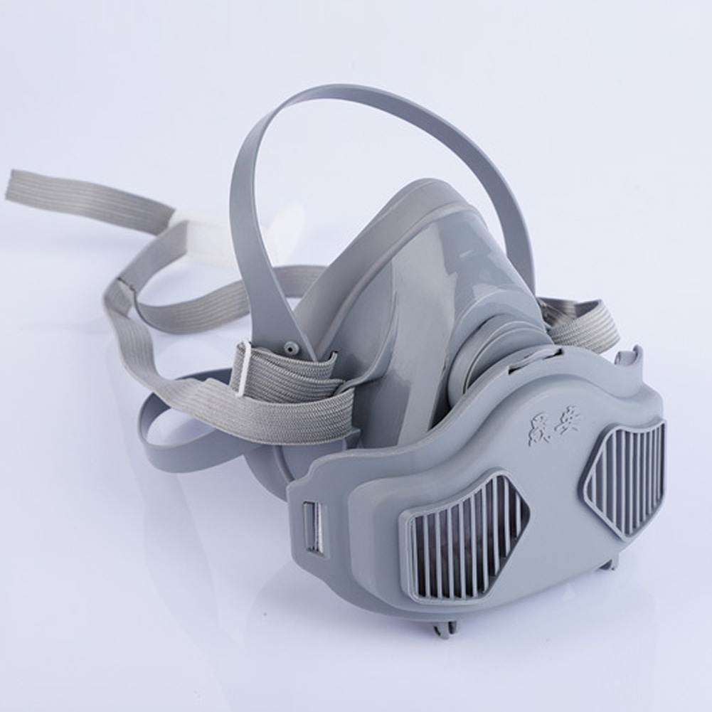 Half Face Gas Mask Respiratory Dust-proof High Efficiency Filters Protective Industrial Anti PM2.5 Respirator Dust Mask