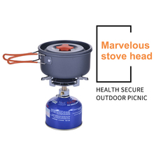 лучшая цена Butane Stove Outdoor Cooking Camping Gas Stove Burner BBQ Picnic Stainless Steel Portable Mini Hiking Disc Type Furnace AT6313