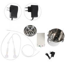 Козий Milker мини домашний электрический доильный аппарат вакуумный насос Комплект регулятора с 5л ведром для козы 100-240 В доильный аппарат