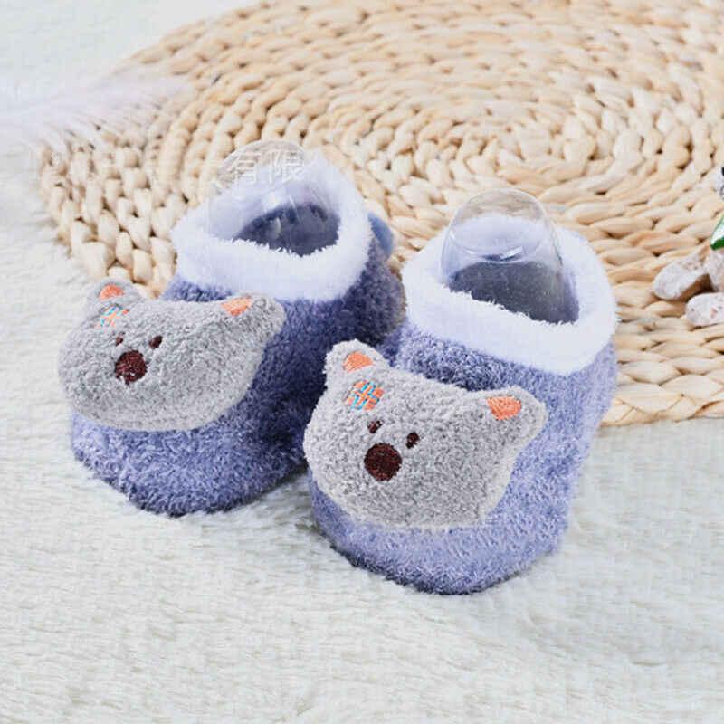 Schattige Baby Meisje Jongen antislip Sokken Cartoon Pasgeboren Slipper Schoenen Laarzen 0-5 Jaar