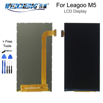 100% Tested For Leagoo M5 LCD Display Screen Repair Parts for BQS 5022 LCD Mobilephone Digital Accessory With Tools image