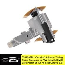 캠축 조절기 VW 제타 골프 MK4 용 타이밍 체인 텐셔너 Passat B5 Bora A4 A6 Seat Octavia 1.8T 058 109 088 L 058109088L