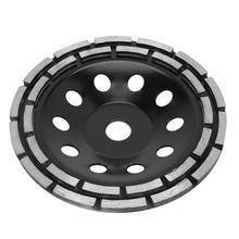 180mm ściernica diamentowa tarcza kształt miski szlifowania puchar betonu granit narzędzia ceramiczne tanie tanio Xzante NONE CN (pochodzenie) Diamond Grinder Wheel Home DIY
