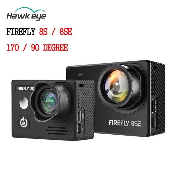 Hawkeye Firefly 8se/8 s 4k 90 תואר/170 תואר מסך Wifi Fpv פעולה מצלמה ספורט מצלמת הקלטה עבור ירי Drone חלק