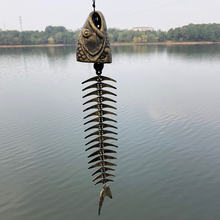 Чугунная рыболовная кость 22 дюйма большие креативные ветряные