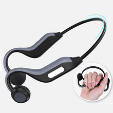B1 bezprzewodowy zestaw słuchawkowy Bluetooth 5.0 słuchawki kostne Outdoor sportowy zestaw słuchawkowy z mikrofonem zestaw głośnomówiący 8G pamięci