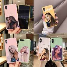 Ag Regenboog Zoetstof Trolley Koffer Textuur Telefoon Case Iphone 11 Pro Max X Xs Max 8 7 6S Plus leuke Candy Kleur Behuizing(China)