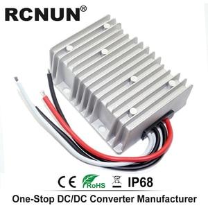 Image 3 - Step up DC Converter 12V 24V to 48V 8A Voltage Regulator, DC DC Power Supply Boost Module RC124808 CE RoHS RCNUN