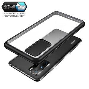 Image 3 - Pour étui Huawei P40 (sortie 2020) SUPCASE Style UB mince Anti coup de protection hybride Premium pare chocs + PC étui transparent