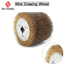Deburring Abrasive copper Steel Wire Round Brush Polishing G
