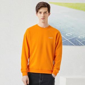 Image 3 - Pioneer Camp 2020 New streetwear Hoodies Men Spring Fashion Black Orange Blue Solid Color Loose Sweatshirts Men AWY0108009