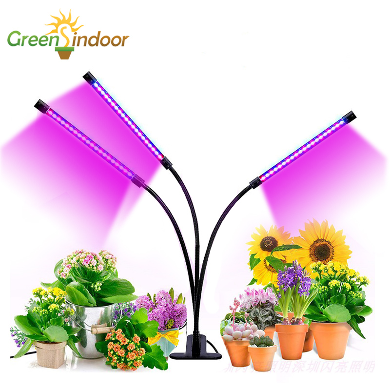 USB Grow Light 27W Full Spectrum Timer Lamp For Plant Led Phyto Lamp For Flowers Indoor Plants Succulents Growing Light Fitolamp