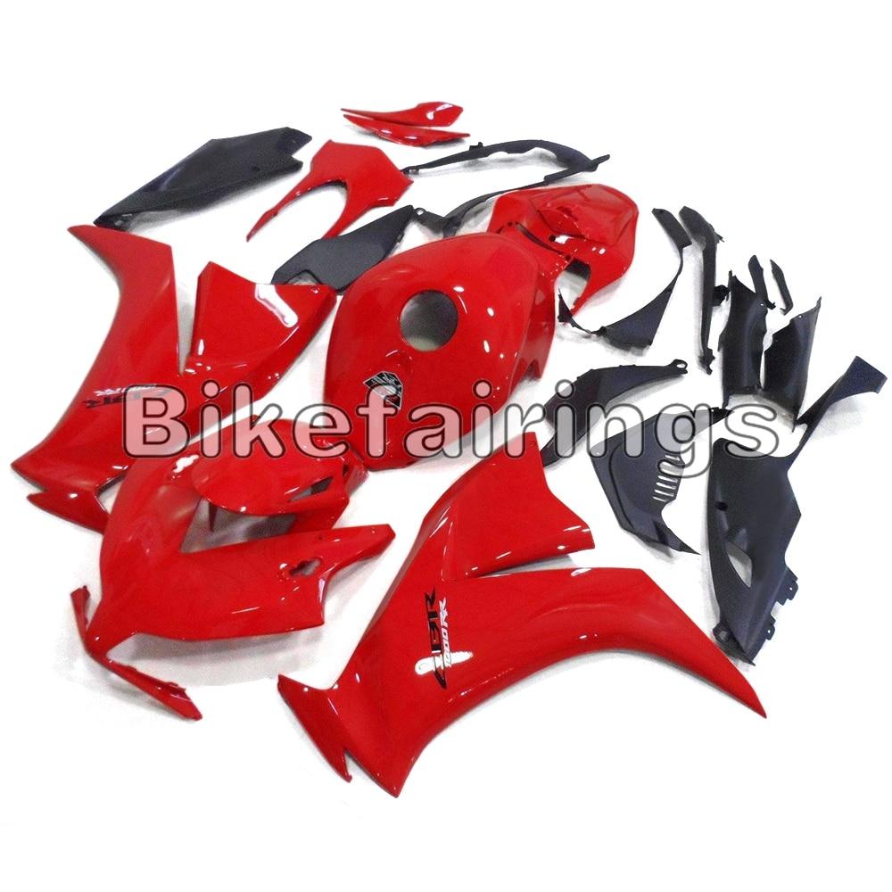 Rouge Noir Mat Couvre Pour Honda 2012 2013 2014 2015 CBR1000RR Sportbike Panneaux En Plastique Injection Capot Carrosserie Carénage Kit