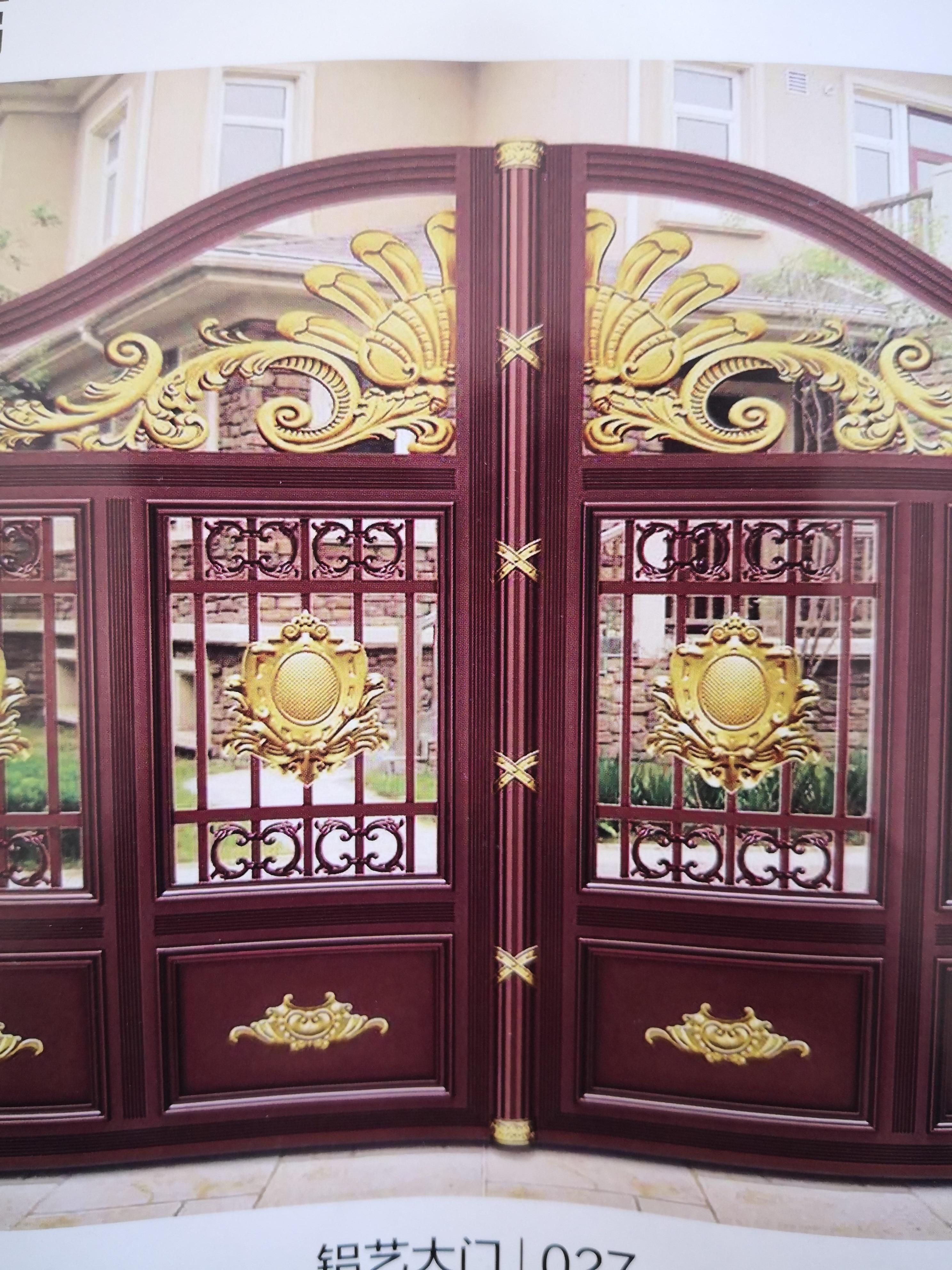 Shanghai Hench  Custom USA Australia Home Use Decorative Aluminum Pool Gates