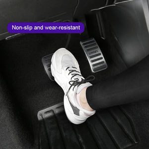 Image 3 - 2Pcs Non SlipเบรคAcceleratorการใช้รถPedalสำหรับสมาร์ทFortwo Forfour 453เท้าคันเร่งเบรคเหยียบอุปกรณ์เสริมอัตโนมัติ