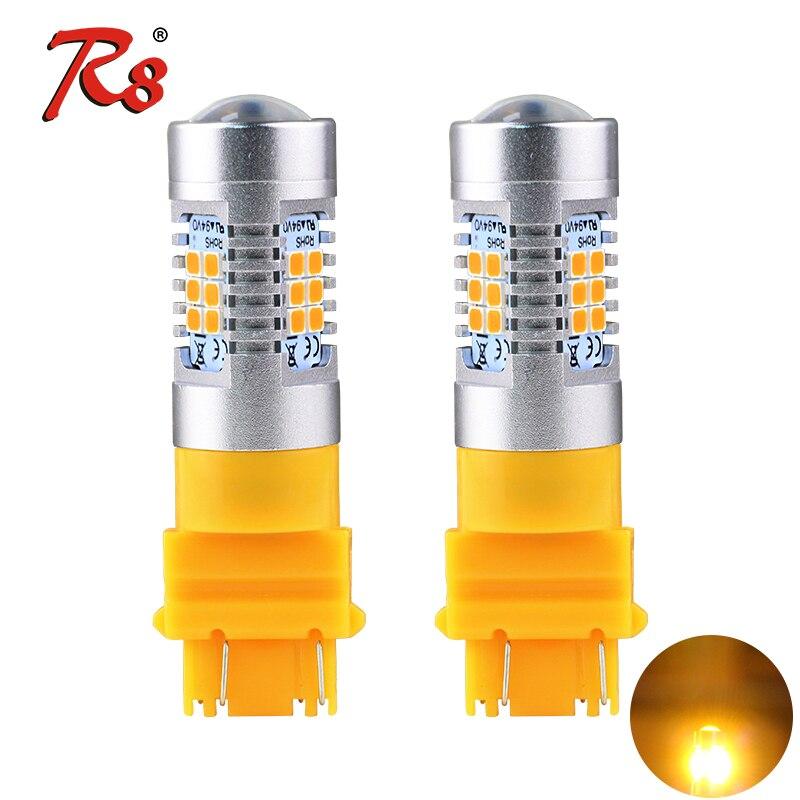 2x 15 LED 3157//7443 T20 W21//5W Stop//Tail bulbs WHITE