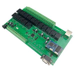 Image 5 - 16 + 8CH 이더넷 PCB 보드 Kincony 스마트 홈 자동화 모듈 컨트롤러 원격 제어 10A 릴레이 DIY 스위치 시스템 Domotica