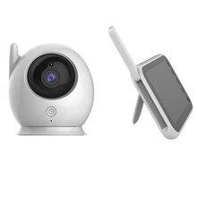 Ainhyzic mise à jour bébé caméra moniteur Vision nocturne 2.4Ghz Transmission sans fil 2 voies parler capteur de température