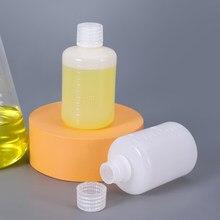 Vazio 100ml redonda pequena boca garrafa de plástico shampoo loção líquido recipiente de embalagem recarregável 10 pçs/lote