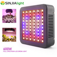 600W LED Grow Light Full Spectrum Phytolamp Plant Lamp Double Chip for indoor vegs plants hydroponics grow tent greenhouse