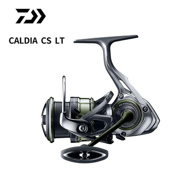 새로운 2019 오리지널 DAIWA CALDIA CS LT 2000S XH 2500XH 3000 CXH 4000 CXH 초경량 스피닝 휠 바다 낚시 낚시 휠