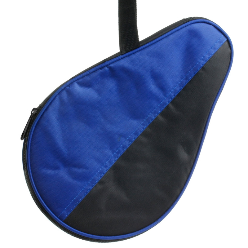 Portable Waterproof Table Tennis Racket Case Bag For Ping Pong Paddle Bat Cover A6HC