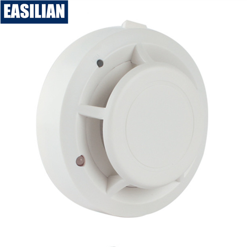 High Sensitive Stable Smoke Sensor Independent Fire Alarm Sound-light Smoke Detector For Office School Hotel Home Protection