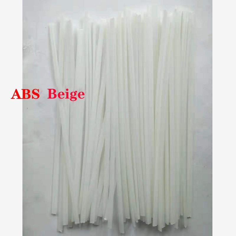 Black/White PP PVC PPR  ABS PE Plastic Welding Rods Car Bumper Repair Floor Solder Soldering Sticks Electrodes