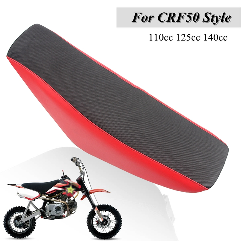 Motorcycle Tall Gripper Seat High Seat for CRF XR 50 <font><b>Pit</b></font> <font><b>Bike</b></font> <font><b>125CC</b></font> Seats image