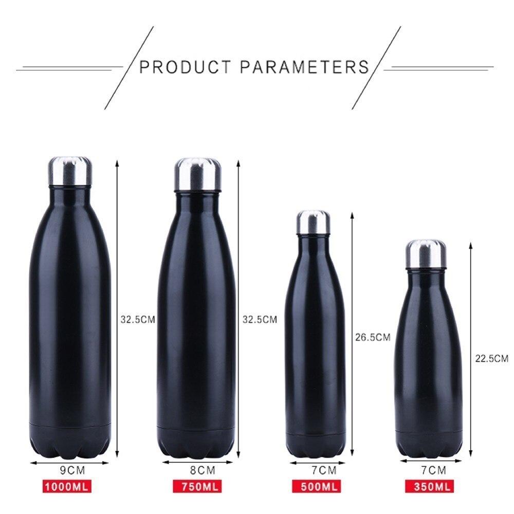 He73601a96fad4a1a9dd72e479f9d715be FSILE350/500/750/1000ml Double-wall Creative BPA free Water Bottle Stainless Steel Beer Tea Coffee Portable Sport Vacuum thermos