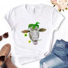 Dandelion The Sheep bandana Print Women Tshirts Cotton Casual Funny t Shirt For Lady Yong T