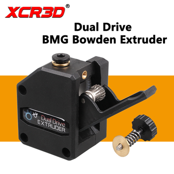 3D Printer Extruder Parts BMG Extruder Bowden Cloned Dual Drive Gear Kit for MK8 J-head Hotend Box Packing 1.75mm Filament 3d printer parts bmg extruder clone dual drive extruder upgrade bowden extruder 1 75mm filament for 3d printer cr10