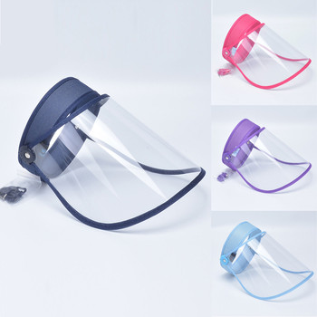 Safety Clear Grinding Face Shield Screen Mask Visor Eye Protection Anti-fog Protective Prevent Saliva Splash Mask Dropshipping