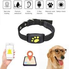 Милый легкий gps собака кошка животное в режиме реального времени трекер GSM/Средство обнаружения GPRS локатор сигнализация водонепроницаемый ошейник