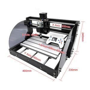 Image 5 - Grabador láser GRBL CNC 3018 Pro Max 15000mw, bricolaje, 3 ejes, Mini máquina enrutadora de madera con controlador fuera de línea para madera, PCB, PVC, nuevo