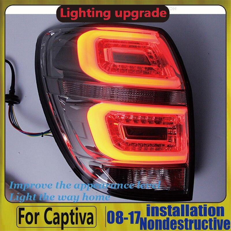Tuning Light ForChevrolet Captiva LED Taillights 2008-2014 LED Back Lamp Rear Lights