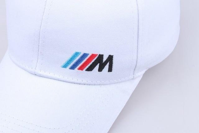 Men Fashion Cotton Car logo M performance Baseball Cap hat for BMW M3 M5 3 5 7 X1 X3 X4 X5 X6 330i Z4 GT 760li E30 E34 E36 E38 4