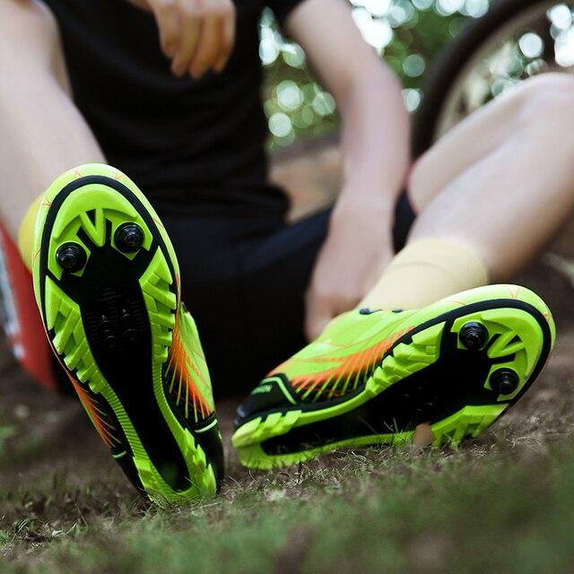 Novos homens e mulheres na estrada, mountain bike, bicicleta ultra-leve calçados esportivos, auto-bloqueio profissional respirável 3