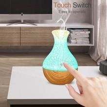 USB увлажнитель воздуха Дерево лампы ультразвуковой увлажнитель воздуха распылитель ароматческих эфирных масел, ароматерапия прохладный туман Maker для Офис