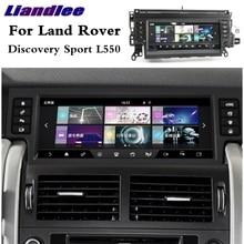 Liandlee רכב מולטימדיה נגן NAVI CarPlay מתאם לנד רובר דיסקברי ספורט L550 2014 ~ 2020 רדיו מסך GPS ניווט