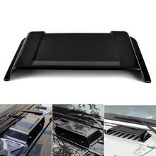 цена на Cowl Heater Air Intake Hood Scoop Plastic Vent Cover Cap Rain Shield for Jeep Wrangler TJ JK 98-18 2007-2017 Auto Accessories