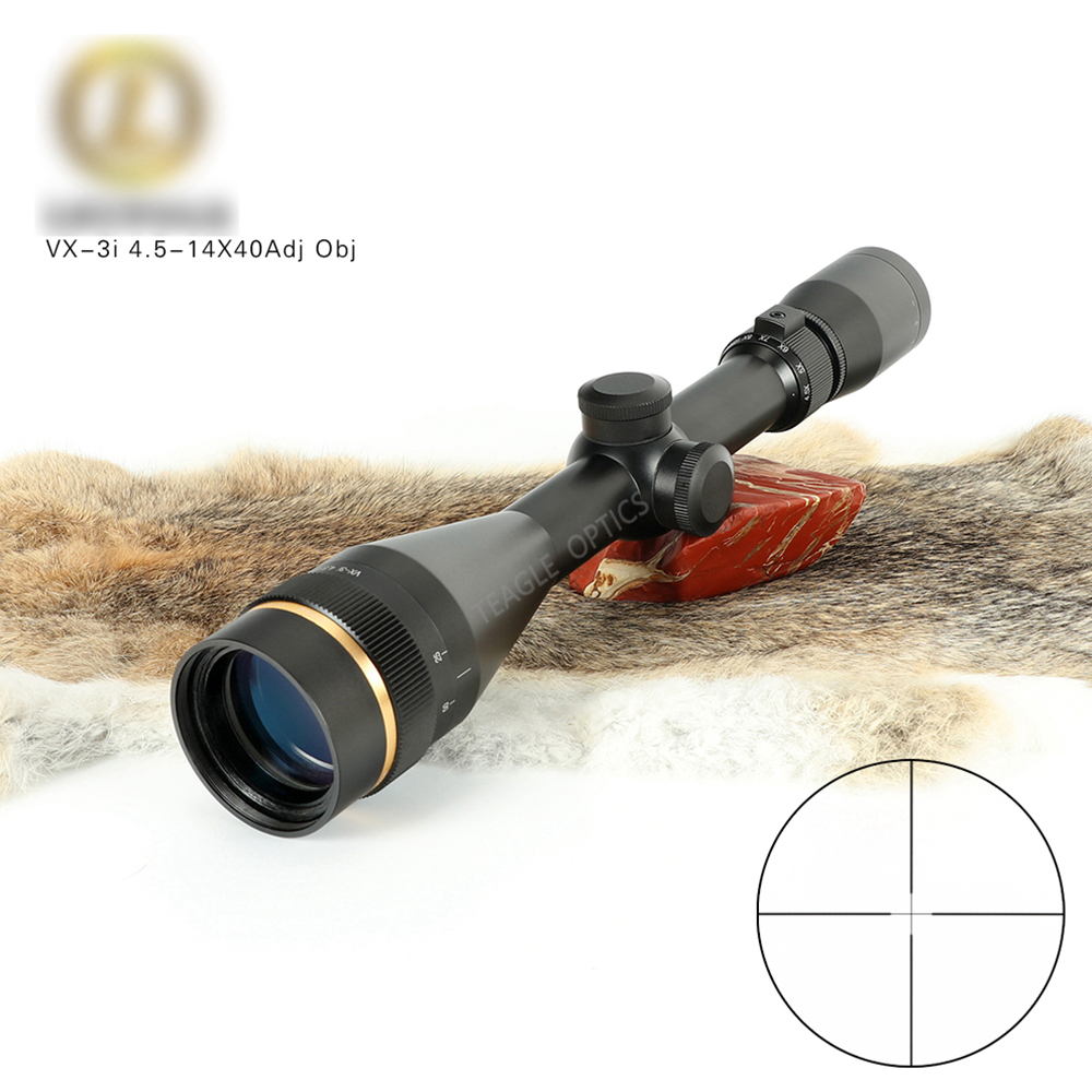 VX-3i 4.5-14x40 AO Duplex Reticle Hunting RifleScopes 1 Inch Tube Tactical Rifle Scope