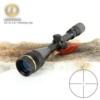 цена на VX-3i 4.5-14x40 AO Duplex Reticle Hunting RifleScopes 1 Inch Tube Tactical Rifle Scope