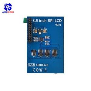 "Diymore 3.5 ""TFT LCD Touch Screen Display Modul 320x480 mit Touch Stift für Raspberry Pi 3 Modell B, pi 2 Modell B & Pi Modell B"