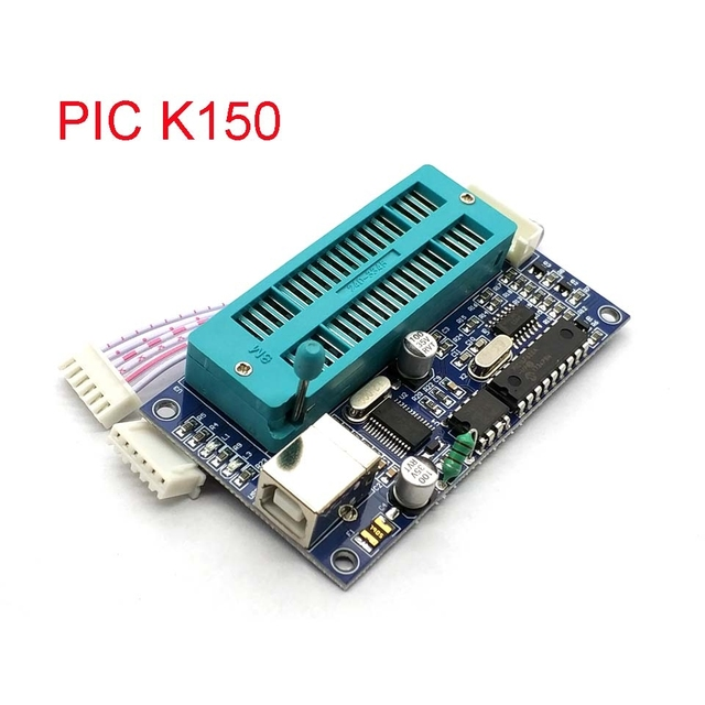 PIC Microcontroller USB Automatic Programming Programmer K150 + ICSP Cable