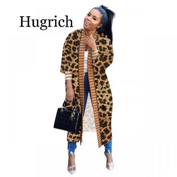 2020 Autumn Winter cloak Poncho Plaid Print Full sleeve women Maxi Long coat outerwear Trench vintage Cardigan overcoat