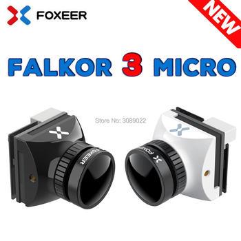 Foxeer FALKOR MICRO V3 1200TVL kamera FPV 1 8mm obiektyw GWDR OSD w każdych warunkach pogodowych mikro kamera PAL NTSC przełączana dla FPV RC Drone tanie i dobre opinie CN (pochodzenie) Camera Frame Antennas 18 6mm * 19mm Pojazdów i zabawki zdalnie sterowane Wartość 2 Foxeer Predator Micro Camera