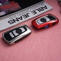 Schlüssel Fall Abdeckung Fob Für BMW 520 525 f30 f10 F18 118i 320i 1 3 5 7Serie X3 X4 m3 M4 M5 E34 E36 E90 FOB Keychain Auto Styling-in Schlüsseletui für Auto aus Kraftfahrzeuge und Motorräder bei
