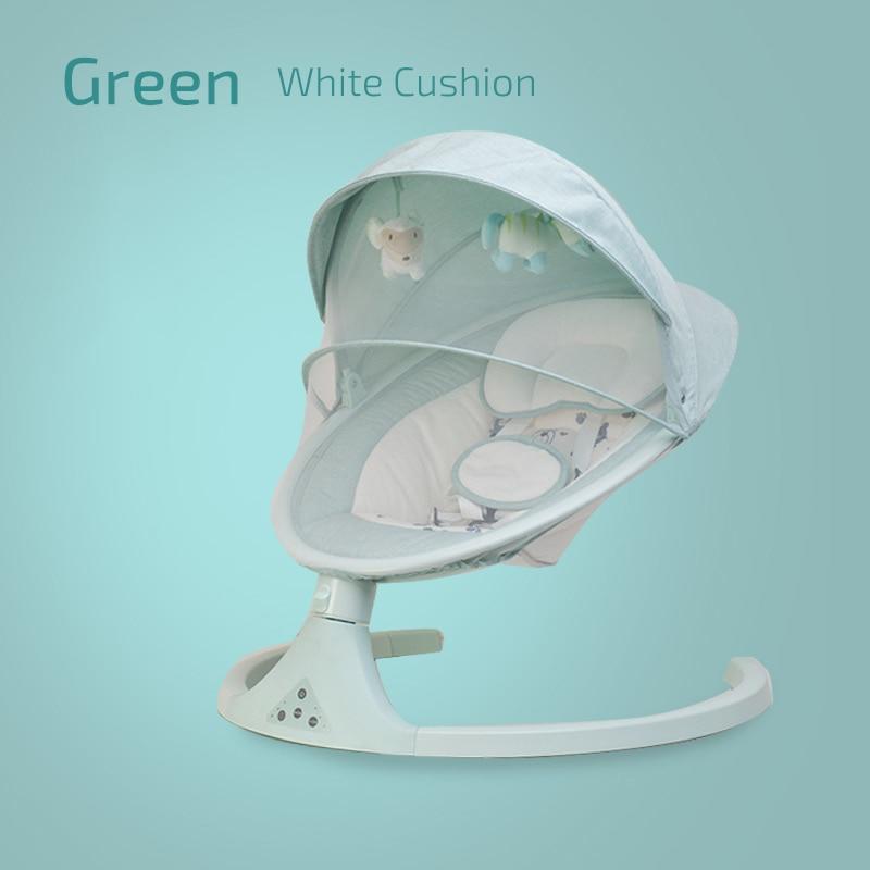 3white cushion-green