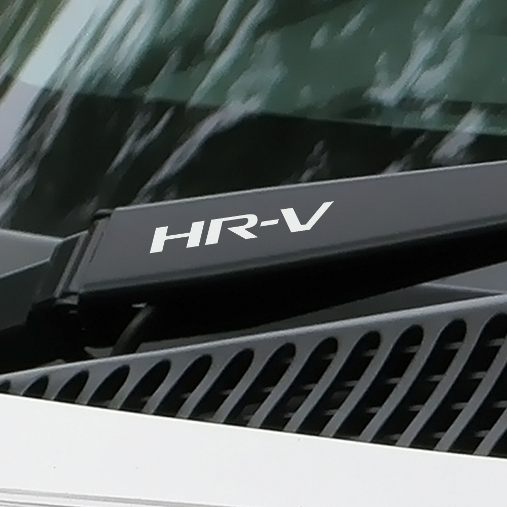 4PCS Car Reflective Vinyl Stickers For Honda HRV HR-V Sports Styling Auto Window Wiper Decor Car Stickers And Decals Accessories